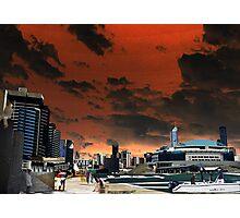 Melbourne Docklands, Australia 02 Photographic Print