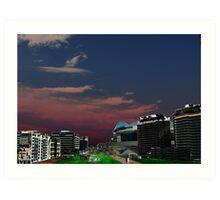 Melbourne Docklands, Australia 03 Art Print