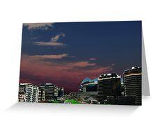 Melbourne Docklands, Australia 03 Greeting Card