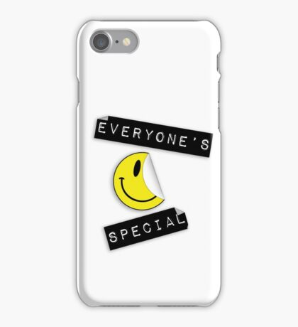 Everyone's Special iPhone Case/Skin