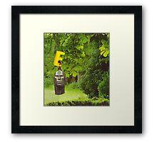 M Blackwell - The Garden of E... Framed Print