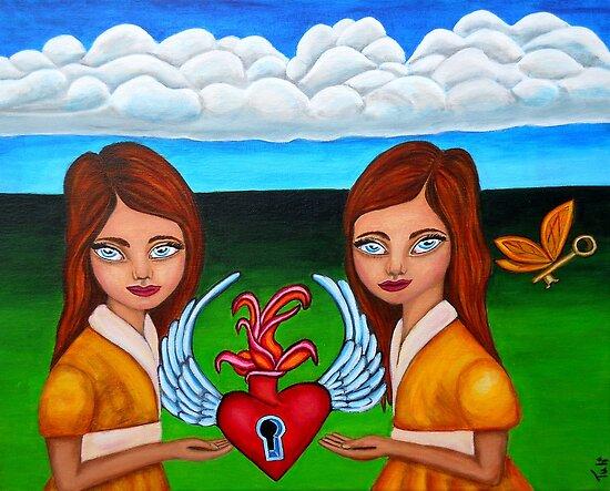 The Twins by ClaudiaTuli