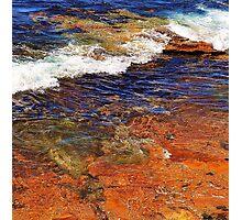 Rock Waves Photographic Print