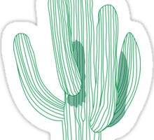 Cactus pattern Sticker