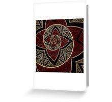 Hypnotic Flower I Greeting Card