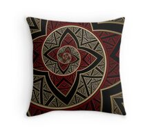 Hypnotic Flower I Throw Pillow