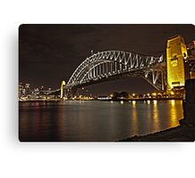 The other side of life,  oops bridge ! :) Canvas Print