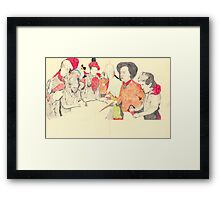 observing Framed Print