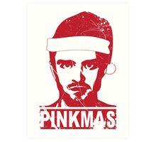 PINKMAS- PINKMAN CHRISTMAS  Art Print