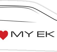 I love my EK Sticker