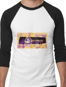 ECU (c) bus Portrait Men's Baseball ¾ T-Shirt