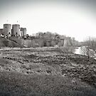 Rhuddlan Castle by Dfilmuk Photos