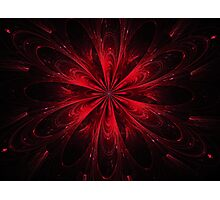 Ruby Red Bipolar Photographic Print