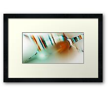 Don't let your fears stand in the way of your dreams Framed Print
