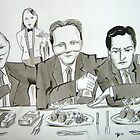 David's Dinner Parties - The cash for access scandal. 27.03.12 by Darren Golding