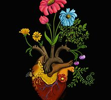 Harvest Peace, Grow Love - Bee Here Now by pnwthings