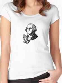 Washington Prayer Women's Fitted Scoop T-Shirt