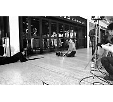 Blocking the Shot Photographic Print