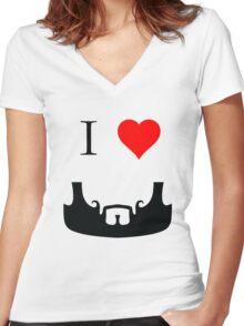 I Heart Crane Women's Fitted V-Neck T-Shirt