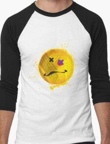 Smiley face - roadkill Men's Baseball ¾ T-Shirt