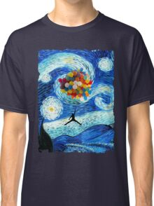 Basketball Starry Night Classic T-Shirt