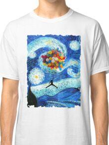 Basketball Starry Night Classic T-Shirt
