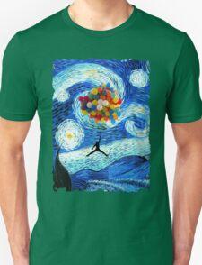 Basketball Starry Night Unisex T-Shirt
