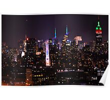 Times Square & NYC at New Year's Eve Poster
