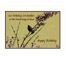Birthday card Art Print