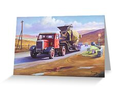 Siddle C Cook's Scammell Greeting Card