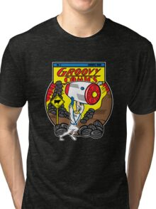Groovy Comics Tri-blend T-Shirt