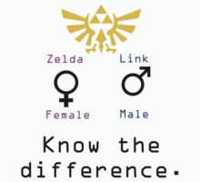 Zelda and Link, know the difference. by ollie0456
