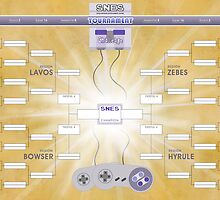 SNES Tournament Challenge!! by thehookshot