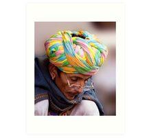 Multi Colored Turban Art Print