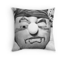 my person(self-portrait) Throw Pillow