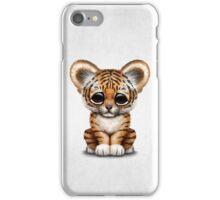 Cute Baby Tiger Cub  iPhone Case/Skin