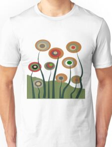 Whimsical Flowers Unisex T-Shirt