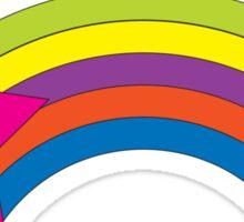 Star Rainbow Sticker