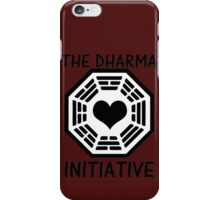 DHARMA INITIATIVE iPhone Case/Skin