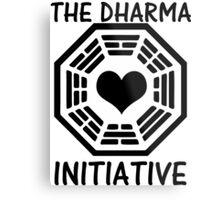 DHARMA INITIATIVE Metal Print
