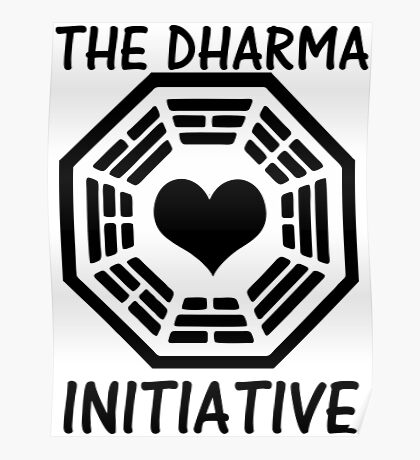 DHARMA INITIATIVE Poster