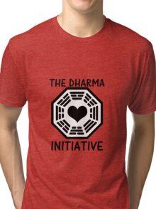 DHARMA INITIATIVE Tri-blend T-Shirt