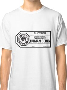 Dharma Initiative standard issued human being Classic T-Shirt