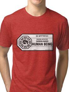 Dharma Initiative standard issued human being Tri-blend T-Shirt