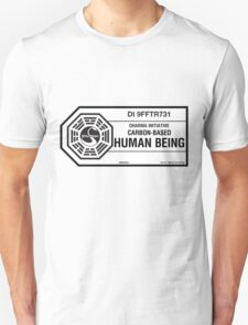 Dharma Initiative standard issued human being T-Shirt