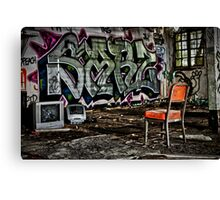 TV Time Canvas Print
