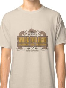 Val & Earl's Work for Hire Classic T-Shirt