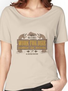 Val & Earl's Work for Hire Women's Relaxed Fit T-Shirt