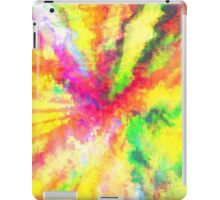 Psychedelic Abstract Watercolour Art iPad Case/Skin
