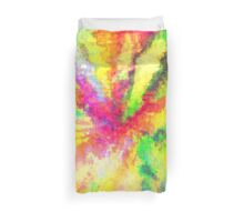 Psychedelic Abstract Watercolour Art Duvet Cover